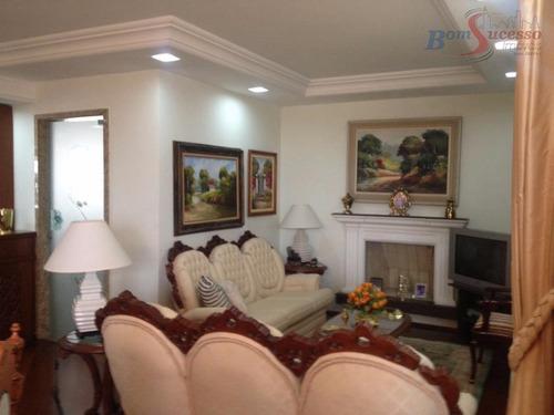 Imagem 1 de 30 de Apartamento Com 4 Dormitórios À Venda, 220 M² Por R$ 1.500.000,00 - Tatuapé - São Paulo/sp - Ap0733