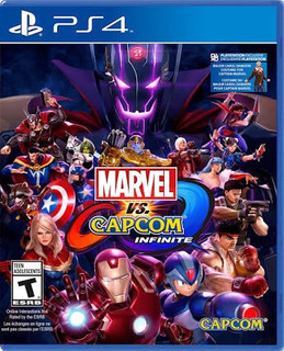 Juego Psp 4 Marvel Vs Capcom