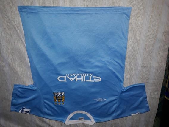Camiseta Ca Manchester City Umbro 2012 Original Talle L