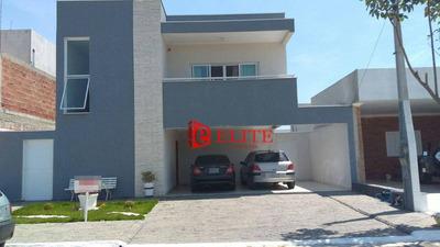 Sobrado Com 3 Dormitórios À Venda, 276 M² Por R$ 890.000 - Condomínio Terras Do Vale - Caçapava/sp - So0528