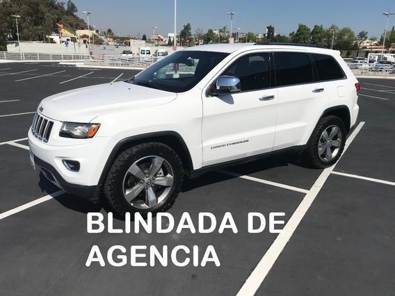 Grand Cherokee 4x4 Blindada De Planta 3 Plus 2014 (impecable