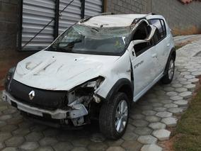 Renault Sandero Stepway Motor 1.6 Sucata Para Retirada Peças