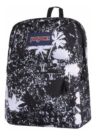 Mochila Jansport Linea Original Black Ditz Field Armonyshop