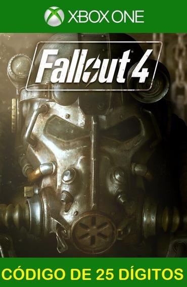 Fallout 4 Xbox One - 100% Original (25 Dígitos)