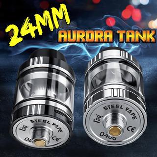 24 Milímetros Aurora Tanque Vaporizador Estojo Eletrônico Ci