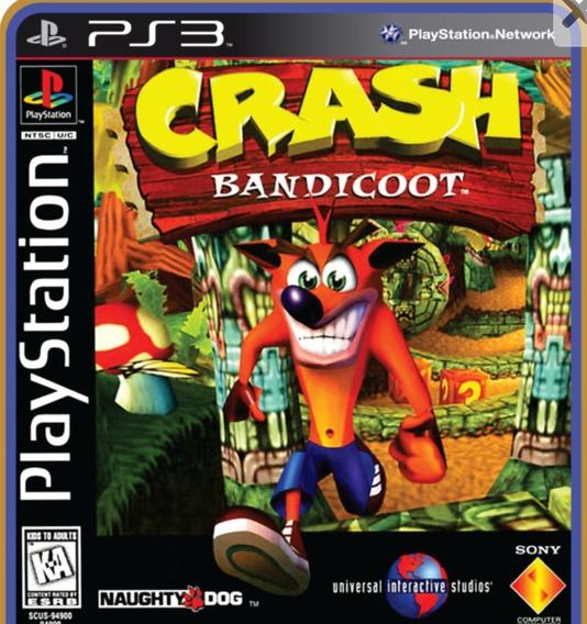 Crash Bandicoot 1 Para Ps3 Desbloqueado