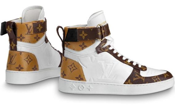 Rivoli Sneaker Boot Luis Vuitton Dama Tricolor Envio Gratis