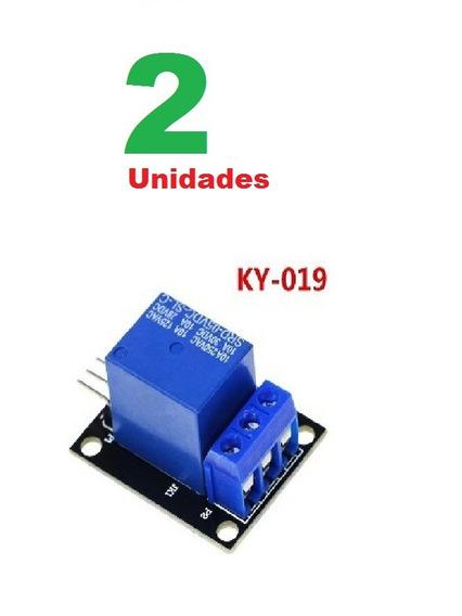 2 X Relé Arduino Modulo Relay Automação Raspberry