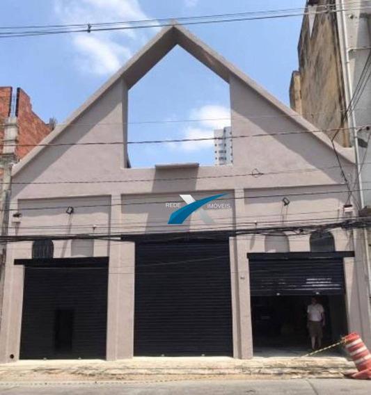 Galpão Para Alugar, 343 M² Por R$ 7.000,00/mês - Cambuci - São Paulo/sp - Ga0105