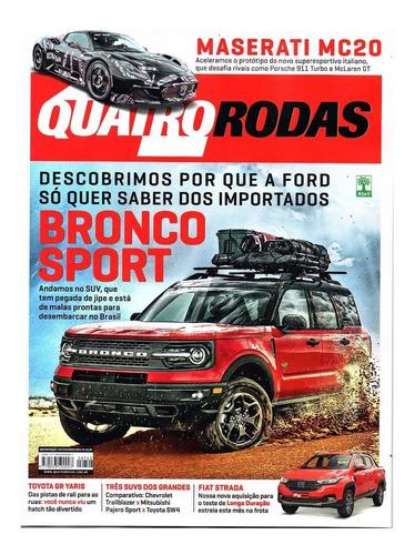 Revista Quatro Rodas Fevereiro/2021 Ed 742