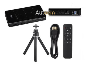 Mini Proyector Americano Android Wifi Bt 4k Hdmi Usb/ Autoem