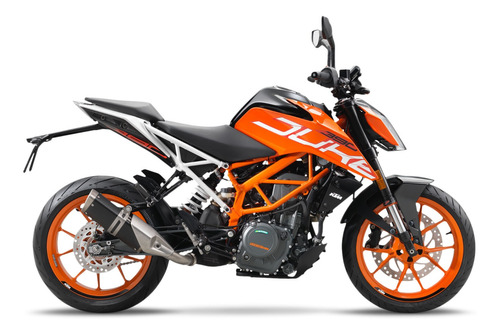 Ktm  Duke 390  Financiada 2021 Naked Moto 0km Urquiza Motos