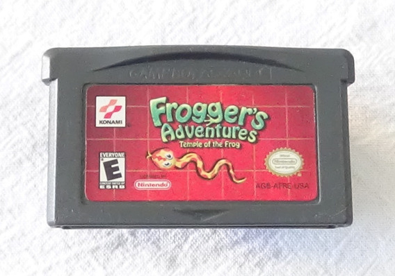 Frogger Adventures Temple Of The Frog Para Game Boy Advance