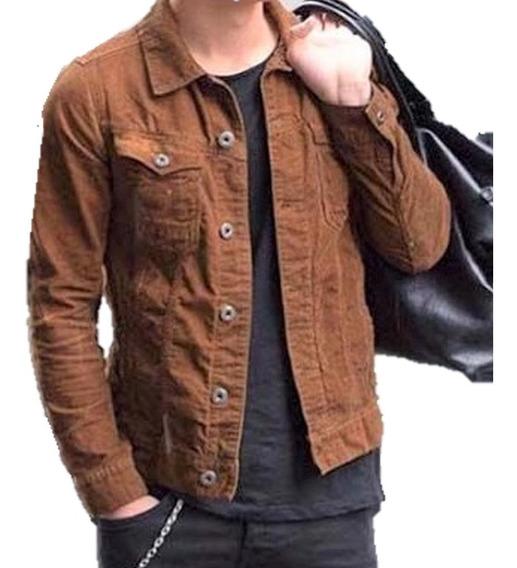 Jaqueta Jeans Premium Masculina Casaco Slim Fit Offert