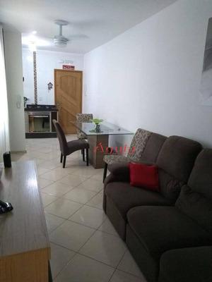 Cobertura Com 2 Dormitórios À Venda, 50 M² Por R$ 320.000 - Parque Erasmo Assunção - Santo André/sp - Co0641