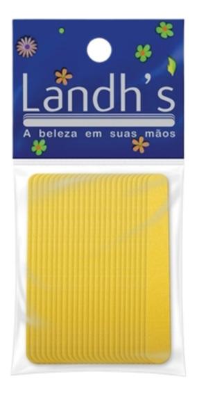 Mini Lixa 9 Canario Com 72 Unidades Landhs