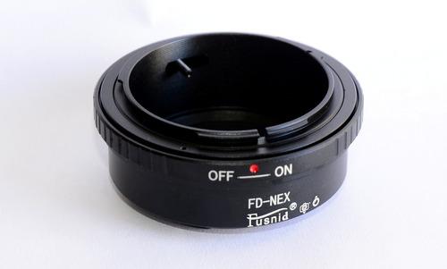Adaptador Lentes Canon Fd A Camaras Sony E Mount