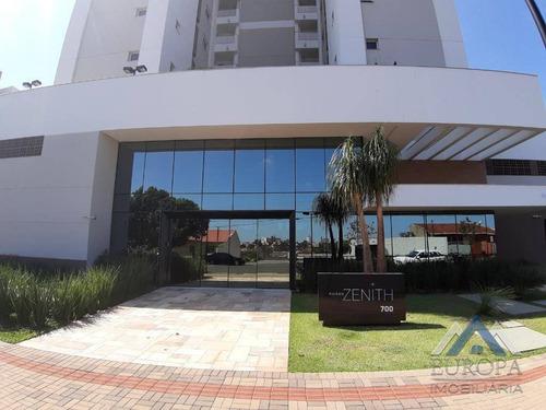 Apartamento Com 3 Dormitórios À Venda, 124 M² Por R$ 904.000,00 - Andrade - Londrina/pr - Ap0412
