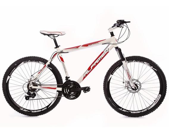 Bike Aro 26 Aluminio Alfameq Kit Shimano 21v Freio Disco