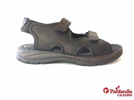 Sandalias Oxigeno Hombre Cuero Confort N° 39 / 45