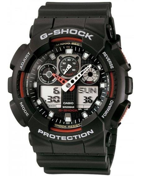 Relógio Casio G-shock Ga-100-1a4dr (nota Fiscal) Ga100