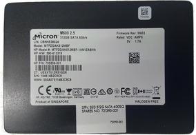 Hd Ssd 512gb Sata 6gb/s 2.5 - Micron M600 -certificada Hp