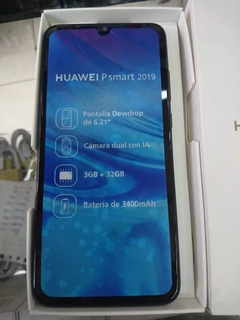 Huawei P Smart 2019 Nuevos De Paquete + 2 Meses De Garantía