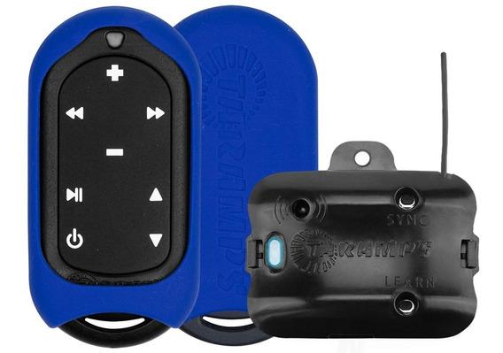 Controle Longa Distância Taramps Tlc 3000 Azul Som Carro