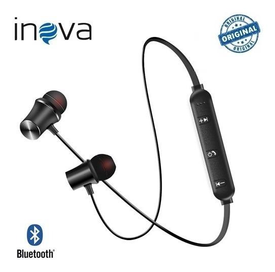 Fone De Ouvido Bluetooth Sem Fio Inova 2146d Ultra Bass Pro