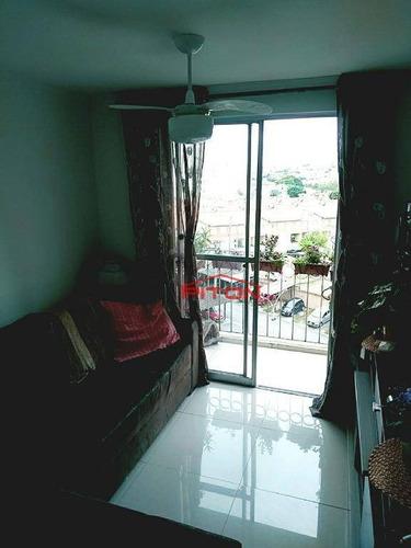 Apartamento Com 2 Dormitórios À Venda, 49 M² Por R$ 300.000,00 - Cangaíba - São Paulo/sp - Ap1216