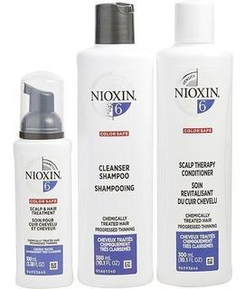 Nioxin Kit 6 Sh 300ml + Cond 300ml + Leave In 100ml