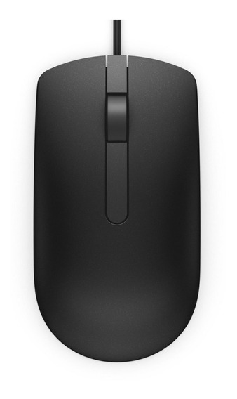 Mouse Óptico Dell Ms116 Preto Usado Pronta Entrega Com Nota!