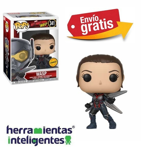 Wasp Chase Funko Pop Marvel Película Ant-man And The Wasp