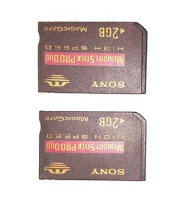 Memoria Stick Pro Duo 2 Gb - Sony ( 2 Und )