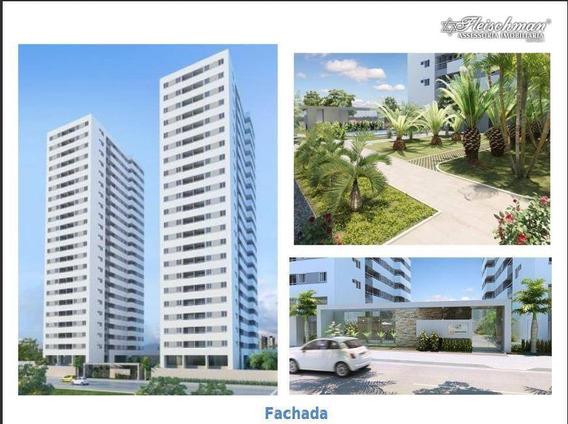 Apartamento Residencial À Venda, Candeias, Jaboatão Dos Guararapes. - Ap1337