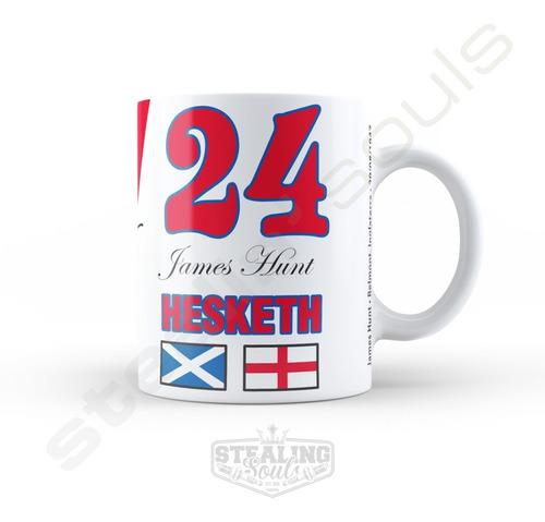 Taza De Porcelana Fierrera - James Hunt #02 | Formula 1