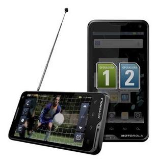 O Mais Completo! Atrix Tv Dual Chip 8mb Xt687 Gps 4.04 Troco