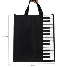 I1 Piano Música Regalo Bolsa Bolso Totalizador Compras Keys 29IWDEH