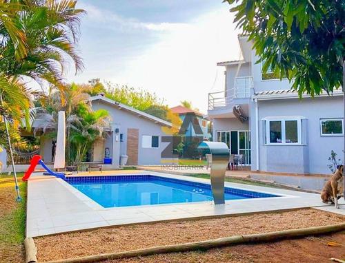 Maravilhosa Chácara Com 4 Dormitórios À Venda, 2750 M² Por R$ 2.500.000 - Vale Das Laranjeiras - Indaiatuba/sp - Ch0675