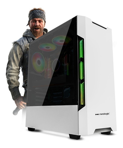 Pc Gamer Neologic Nli81345 I5-9400f 8gb(rx570 4gb) Ssd 240gb