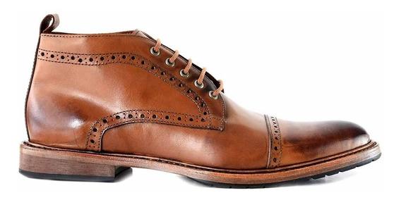 Zapato Hombre Briganti Cuero Bota Botineta Botita Hcbo00934