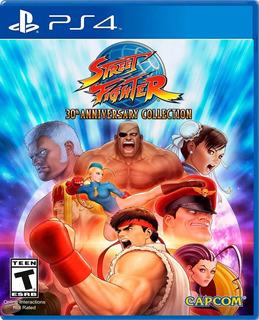 ..:: Street Fighter 30 Aniversario ::.. Para Ps4 En Gamewow