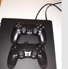 Ps4 Slim 500 Gb Dois Controles E Dois Jogos