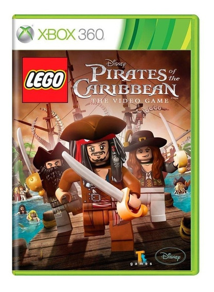 Lego Pirates Of The Caribbean The Video Game Xbox 360 Física