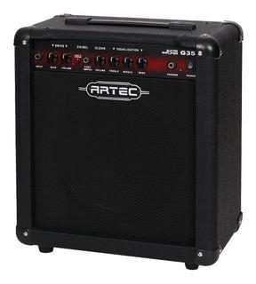 Amplificador Artec G35 Combo Guitarra 35w 2 Canales Cuotas