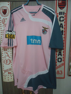 Camisa Benfica ( adidas / Nuno Gomes / Nº 21 )