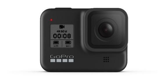 Câmera Gopro Hero 8 Black + Sd 32gb + Suportes + Garantia