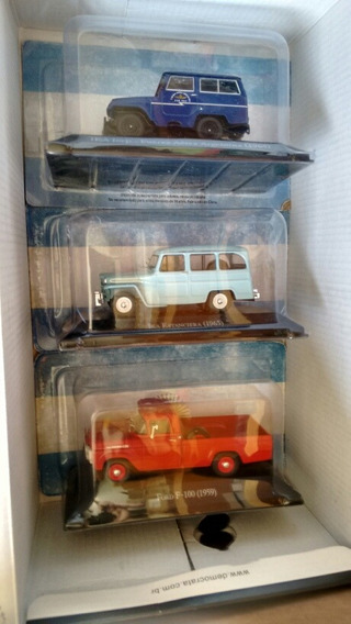Miniaturas Salvat - Wyllis - Jeep - Ford F100 -escala 1:43