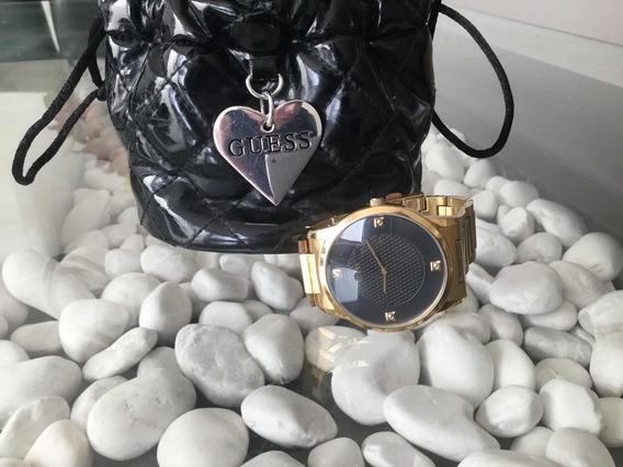 Reloj Guess Para Dama, Color Dorado