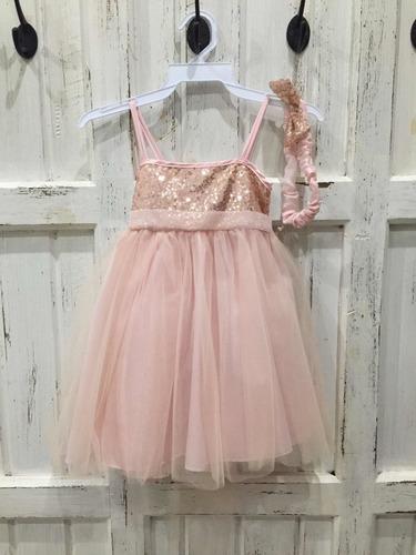 Imagen 1 de 4 de Vestido De Fiesta Importando Beba